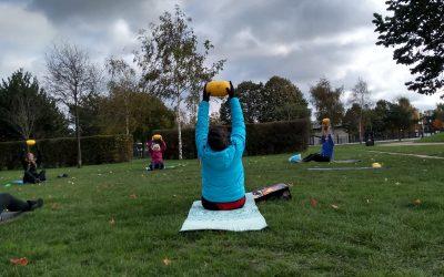 Steeds meer 60-plussers trainen buiten in het Griftpark